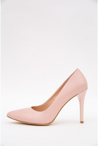 Туфли лодочки на шпильках 148R003-1 цвет Пудровый