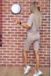 Костюм женский повседневный   цвет бежевый 175R003 стоимость
