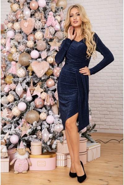 Платье женское 112R011-459 цвет Темно-синий