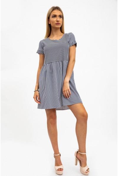 Платье женское синие с белым 112R495 34327