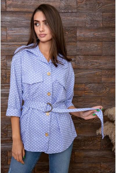 Рубашка женская  цвет голубой 115R399 66355