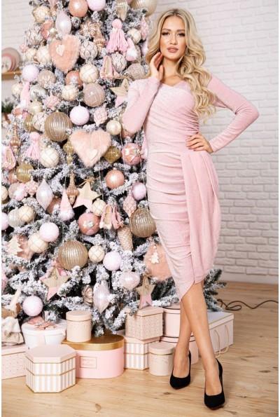 Платье женское 9 цвет розовый 112R011-45 17312