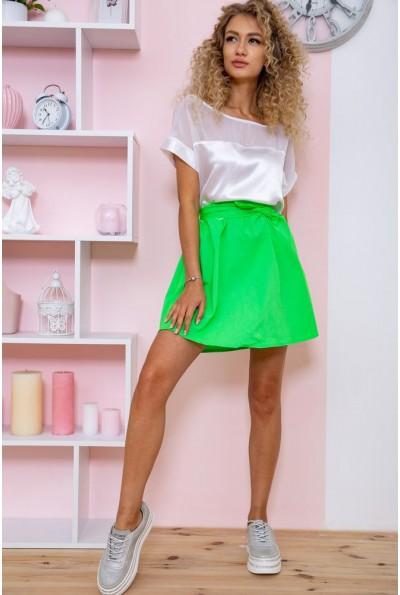 Платье 167R255 цвет Бело-салатовый 60849