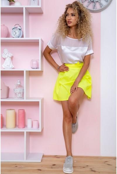 Платье 167R255 цвет Бело-желтый 60847