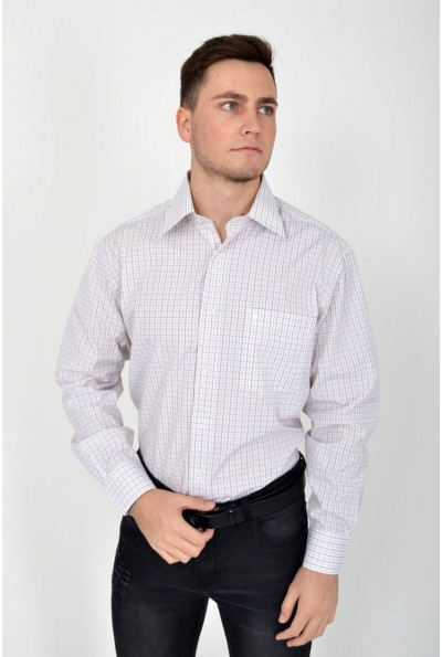 Рубашка 113RPass008 цвет Молочно-коричневый