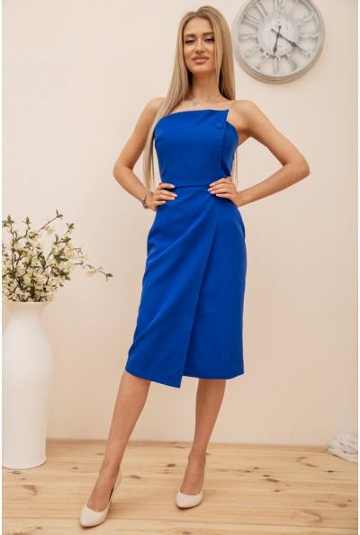 Платье  цвет синий 167R1811 56415