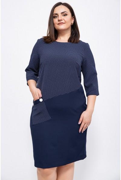 Платье 150R618 цвет Темно-синий
