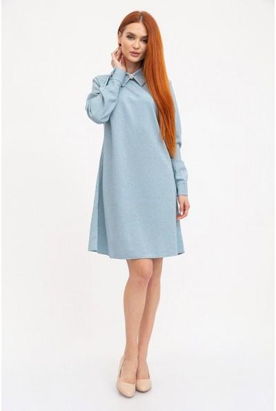 Платье 104R038 цвет Сизый