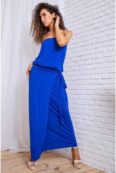 Платье 167R25-5 цвет Электрик 62242