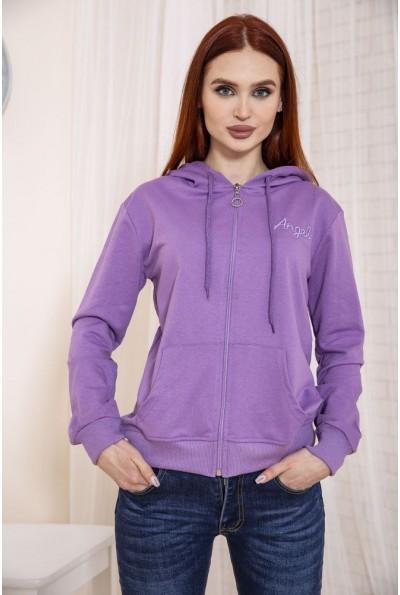 Толстовка женская цвет Фиолетовый 138R6503 48718