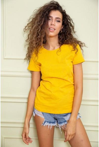 Футболка женская  цвет желтый 131R355 63096