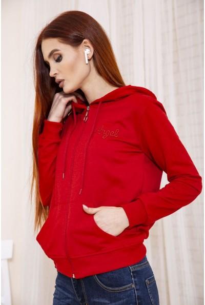 Толстовка женская цвет Красный 138R6503