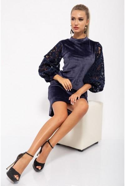 Платье женское 112R470 цвет Синий