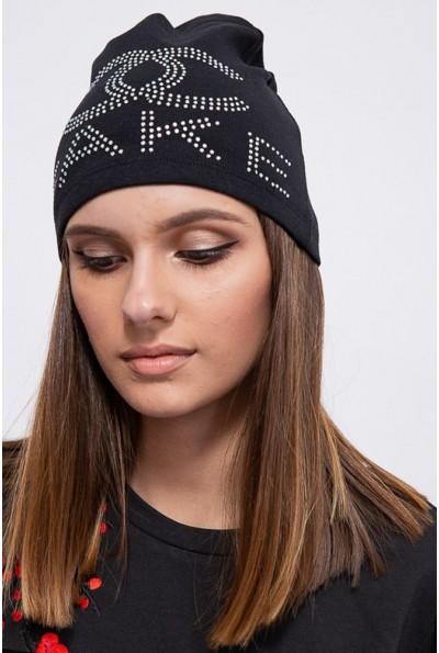 Шапка женская 104R1059-2 цвет Черный