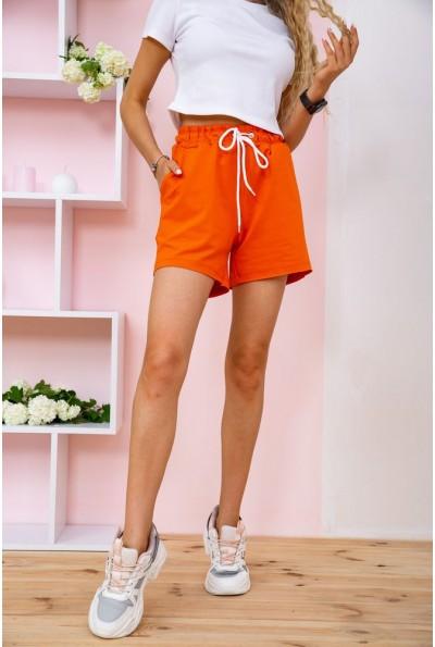 Короткие оранжевые шорты женские 102R203 58300