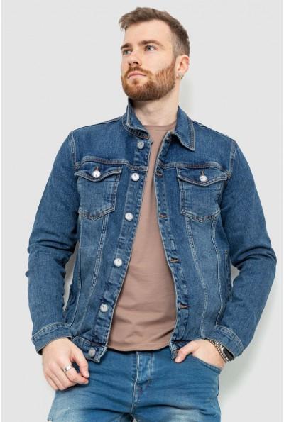 Джинсовая куртка мужская 157R4602 цвет Синий 53573