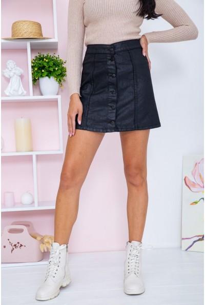 Юбка женская  джинсовая  цвет черный 164R101 66992