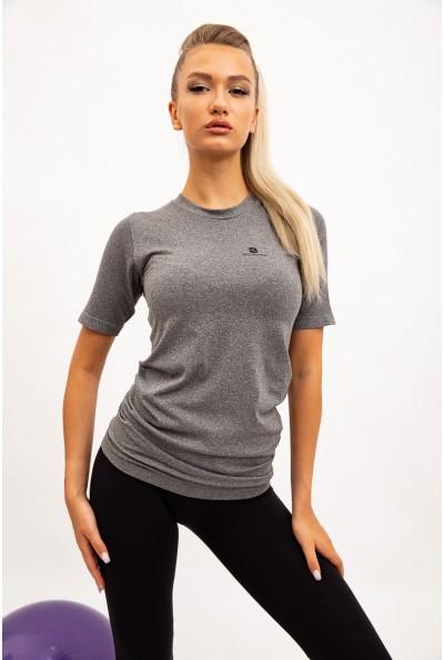 Футболка женская 117R061-1 цвет Серый 35459