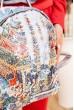 Небольшой рюкзак с пайетками цвет Серебристый 154R003-39-2 стоимость