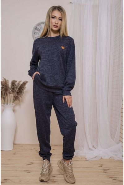 Спорт костюм женский 102R014-2 цвет Темно-синий