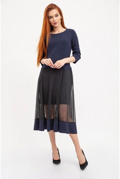 Платье женское 119R461 цвет Темно-синий