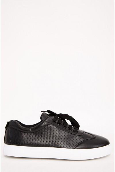 Кеды мужские 129R271020-4 цвет Черный
