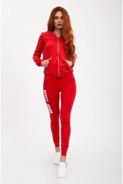 Спорт костюм женский 119R610 цвет Красный