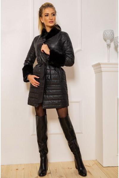 Пальто женское  цвет черный 131R125489 43320