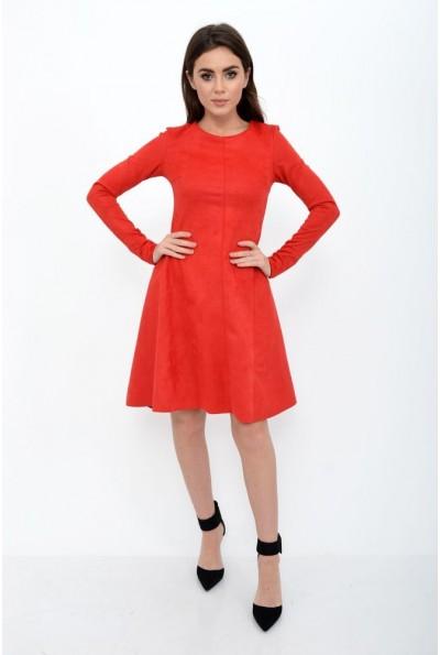 Платье женское 112R467 цвет Красный