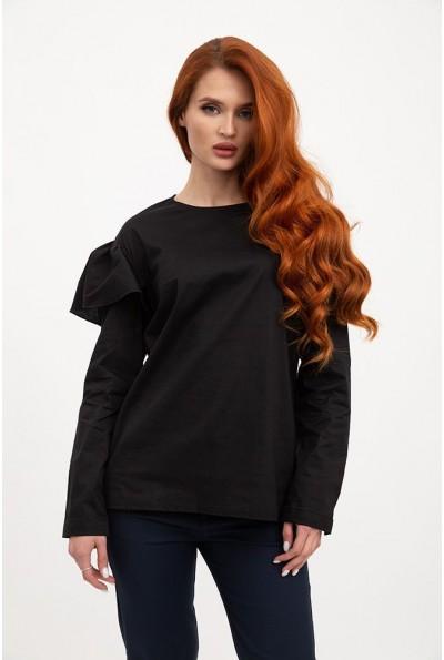 Блузка женская 115R275 цвет Черный