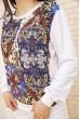 Белый женский костюм повседневный Свитшот и штаны 167R22 акция