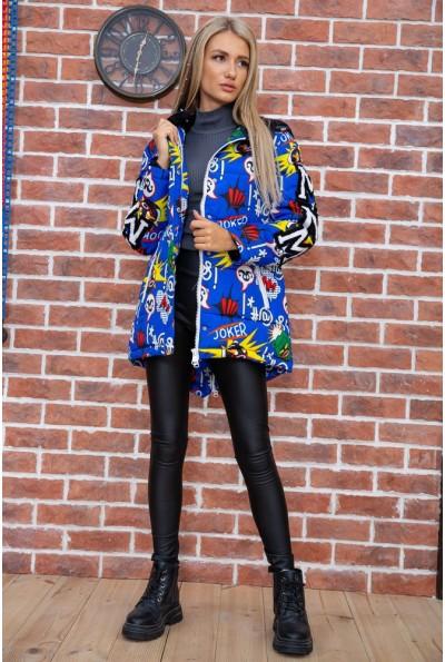 Куртка женская  цвет синий 131R18401 67562