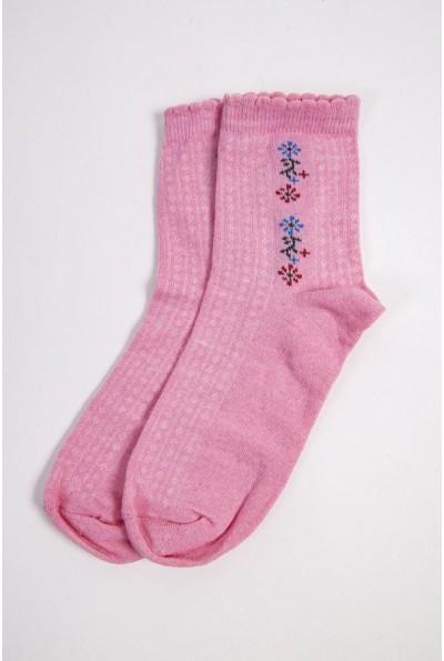 Носки женские 151R017-2 цвет Розовый