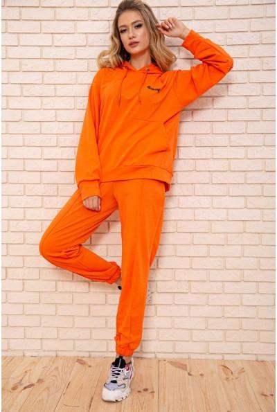 Спортивный костюм женский 103R193 цвет Оранжево-черный