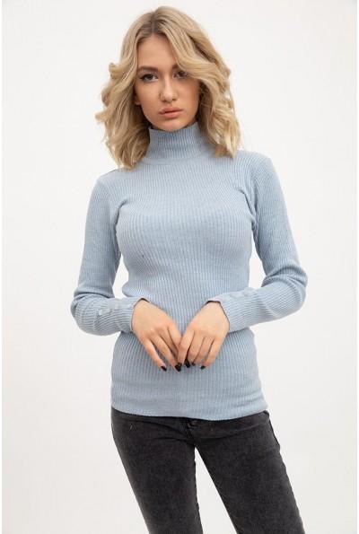 Гольф женский 117R022 цвет Серо-голубой