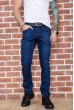 Купить Джинсы мужские на флисе  цвет темно-синий 129R2106 67291
