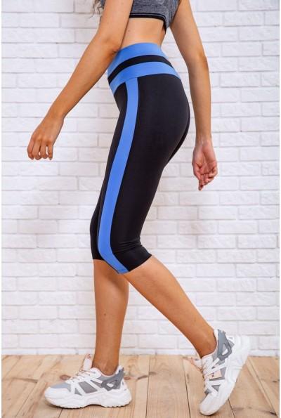 Велотреки женcкие 172R043 цвет Черно-голубой 62460