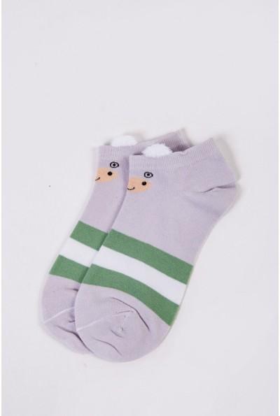 Носки женские короткие  151R2208-2 цвет Светло-сиреневый