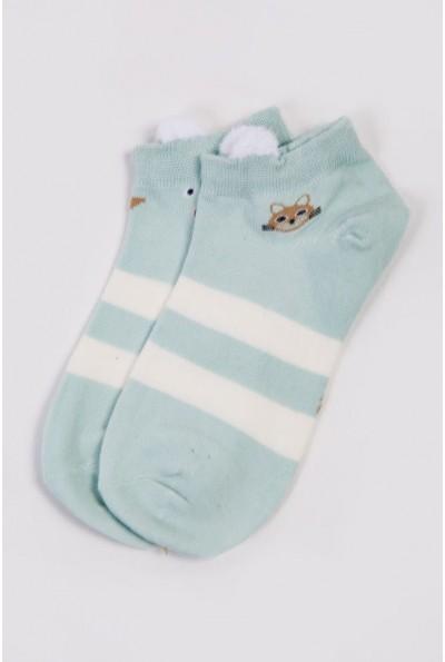 Носки женские короткие  151R2208-2 цвет Мятный 54510