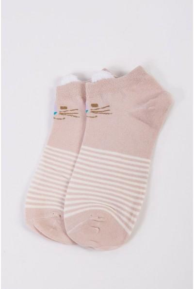 Носки женские короткие  151R2208-2 цвет Пудровый 54514