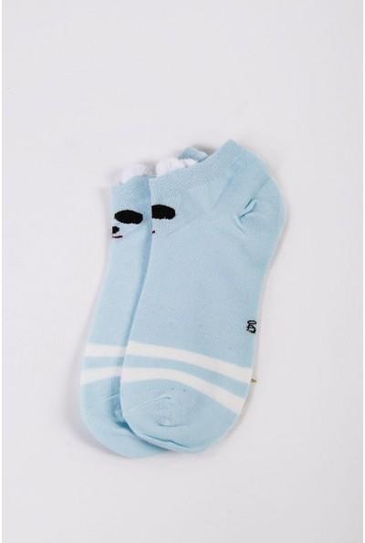 Носки женские короткие  151R2208-2 цвет Голубой 54494