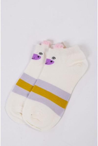 Носки женские короткие  151R2208-2 цвет Молочный 54508
