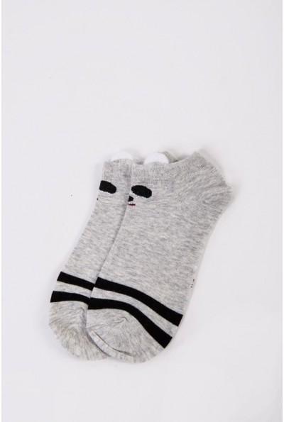 Носки женские короткие  151R2208-2 цвет Светло-серый 54522