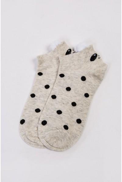 Носки женские короткие  151R2208-2 цвет Серый