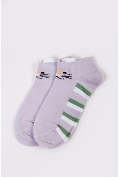 Носки женские короткие  151R2208-2 цвет Сиреневый 54534