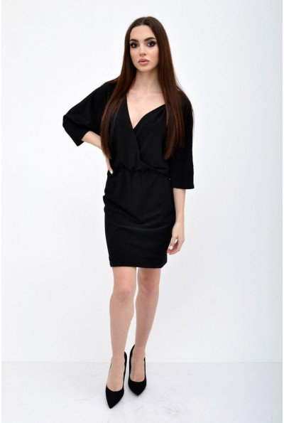 Платье женское 115R359 цвет Черный