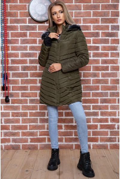 Куртка женская демисезонная  цвет хаки 129R2662-3 66548