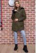 Купить Куртка женская демисезонная  цвет хаки 129R2662-3 66548