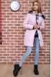 Куртка женская демисезонная  цвет пудровый 129R2662-3 недорого