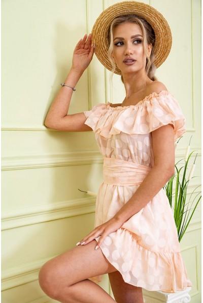 Платье 167R900-1 цвет Светло-персиковый 59242